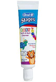 Oral-B baby tooth and gums cleanser