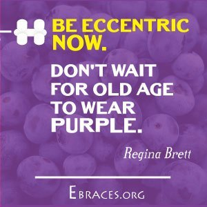 purple color quote